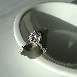 💕2 for $25💕Silver Plated CZ Ring